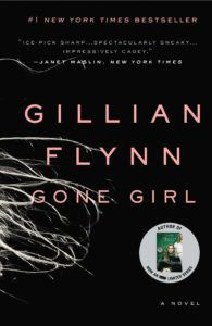 Cover of Gone Girl, a disturbing book you should read