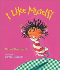 book cover for i like myself