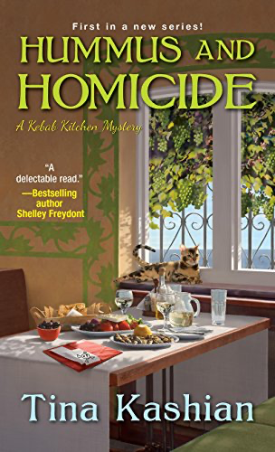cover image of Hummus and Homicide by Tina Kashian
