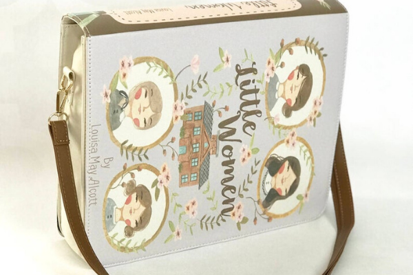 Little Women bag from All The LITTLE WOMEN Etsy Finds   bookriot.com