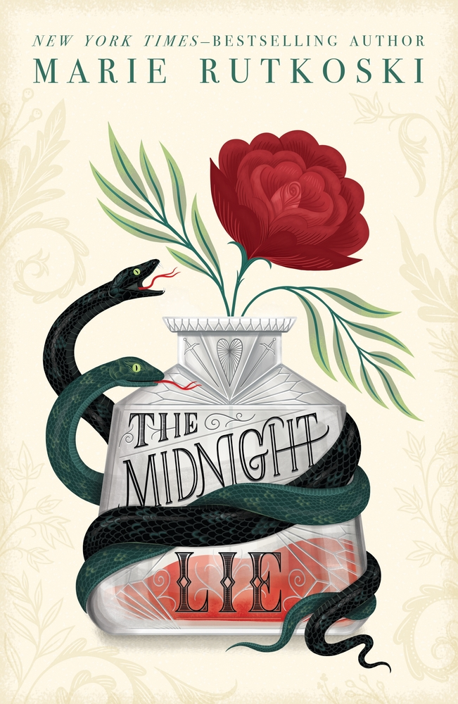 cover image of midnight lie by Marie rutkoski
