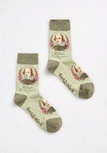 William Shakespeare Socks