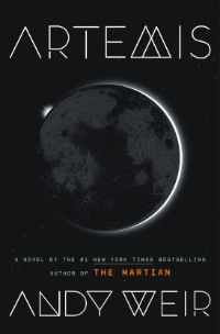 Artemis Andy Weir Cover Image