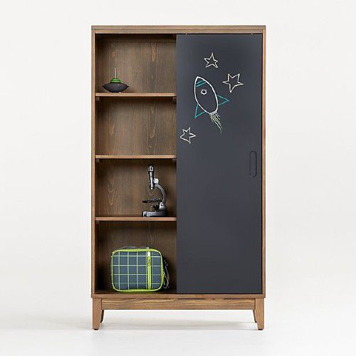 Chalkboard Cocoa Bookcase by Crate&kids