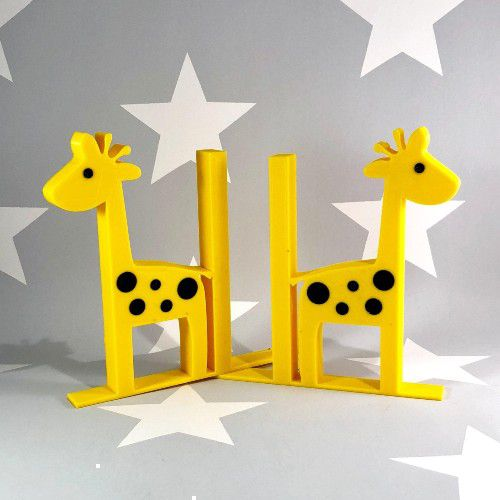 Giraffe Bookends by WowLondon from Etsy