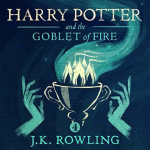 Audiobook cover of Harry Potter and the Goblet of Fire