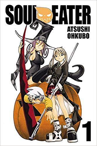Soul Eater Manga Book Cover