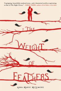 The Weight of Feathers Book Cover