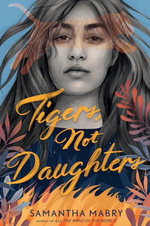 cover of tigers not daughters novel by lily anderson