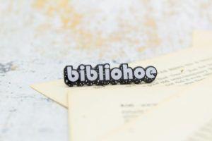 Bibliohoe Enamel Pin