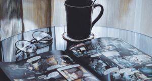comics with mug