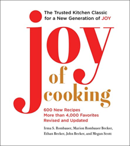cover image of joy of cooking