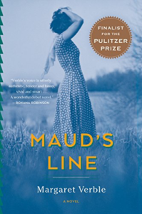 cover image of Maud's Line by Margaret Verble