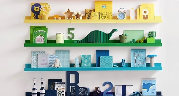 10 Kid's Book Storage Ideas to Keep Books Cute and Off the Floor
