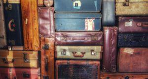 Image of stacked luggage