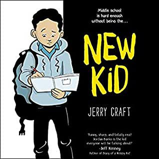 audiobook cover image of New Kid by Jerry Craft