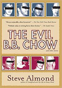 cover image of the evil b.b. chow, funny short stories