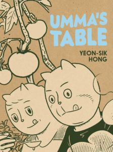 Cover of Umma's Table by Yeon-sik Hong
