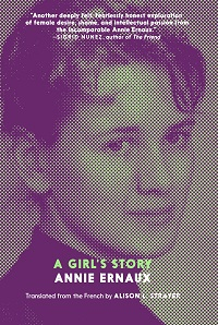 A Girl's Story Annie Ernaux cover