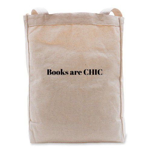 Books are CHIC Tote to support BINC from Bonfire