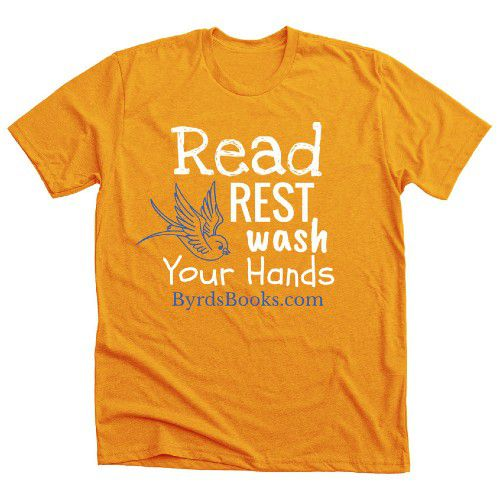 Byrd's Books from Bethel, CT T-shirt Bonfire