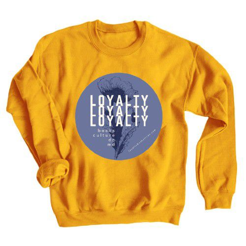 Loyalty Books from DC, MD Sweatshirt Bonfire