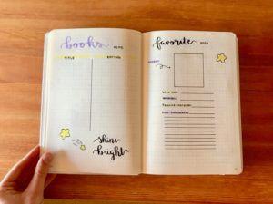 Bullet Journal Track Book