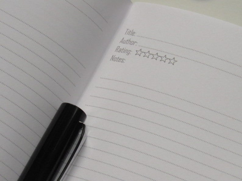 Reading Log Track Book