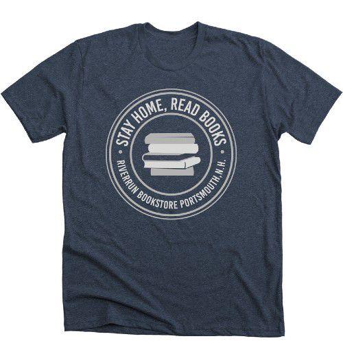 Riverrun Bookstore from Portsmouth, NH T-shirt Bonfire