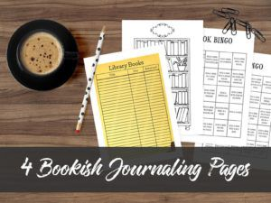 Bookish Journaling Pages