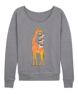 Giraffe Book Sweatshirt