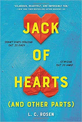 cover image of Jack of Hearts and Other Parts by L.C. Rosen