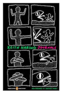 Keith Haring Journals cover