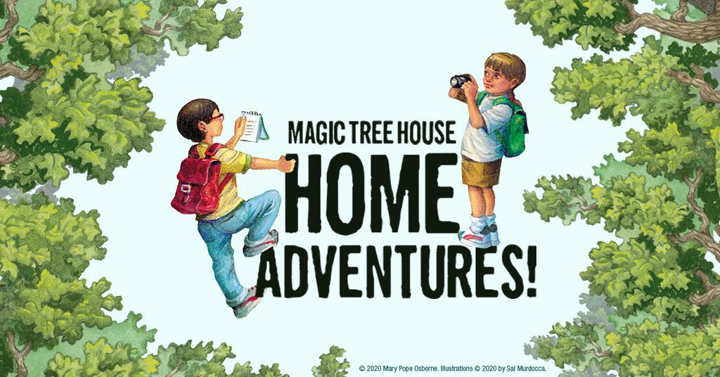 Magic Tree House Home Adventures