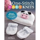One-Stitch Baby Knits book cover