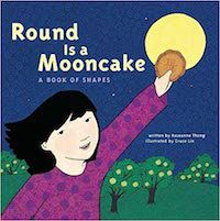 book cover for Round is a Mooncake