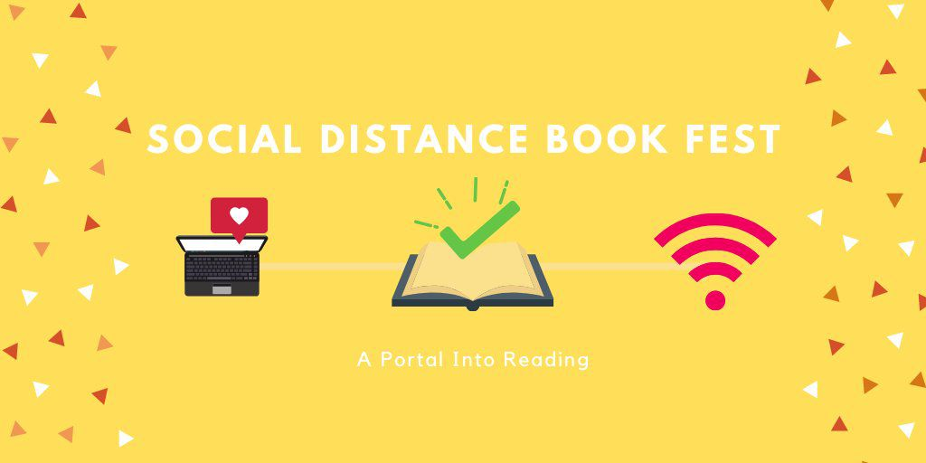 Social Distance Book Fest from Virtual Book Events To Attend From Home | bookriot.com