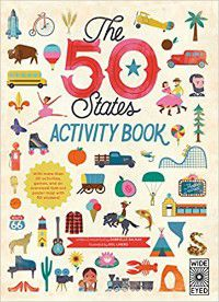 The 50 States Activity Book Book Cover