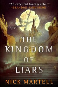 The Kingdom of Liars from Book Releases Delayed Due To Coronavirus | bookriot.com
