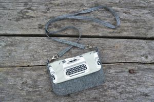 Typewriter Hipster Bag