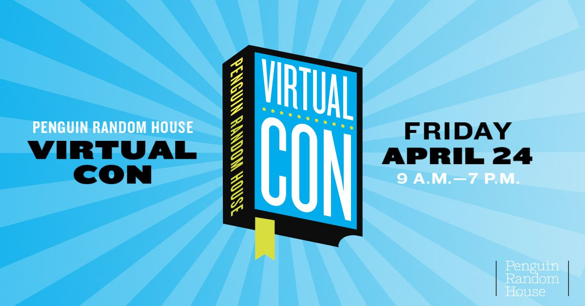 Penguin Random House Virtual Con from Virtual Book Events To Attend From Home | bookriot.com