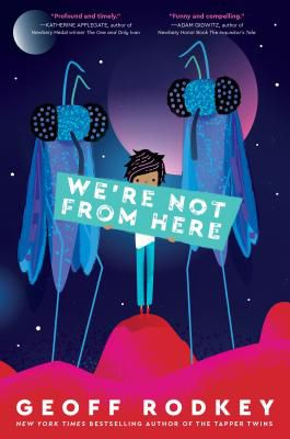 We're Not From Here Cover