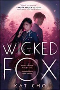 Capa da Wicked Fox por Kat Cho