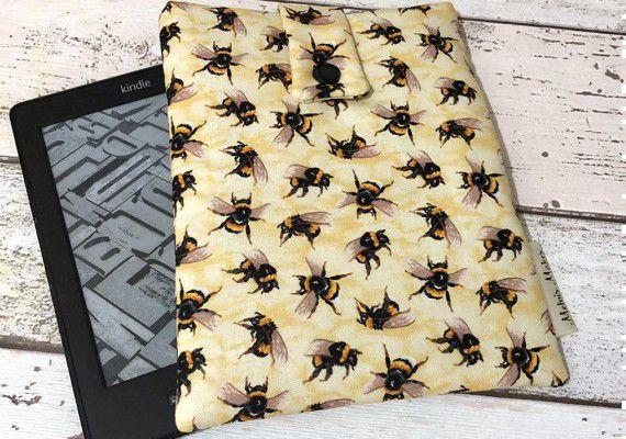 Bees Kindle Case MelvisMakes Etsy