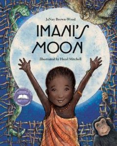 Short Stand-alone Graphic Novels- Imani's moon by JaNay Brown-Wood book cover