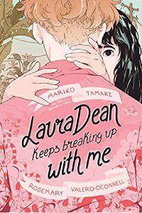 Laura Dean continua terminando comigo capa do livro de Mariko Tamaki e Rosemary Valero-O'Connell