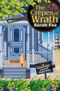 A porch with a cat