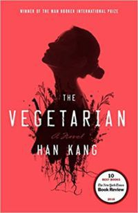 The Vegetarian by Han Kang cover