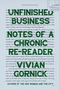 Capa inacabada de Vivian Gornick