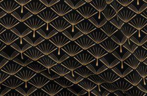 Art Deco Book fabric